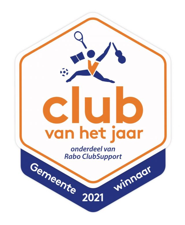 Gemeentewinnaar, Club van het Jaar 2021 !